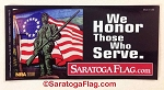 Sticker: WE HONOR THOSE WHO SERVE 3